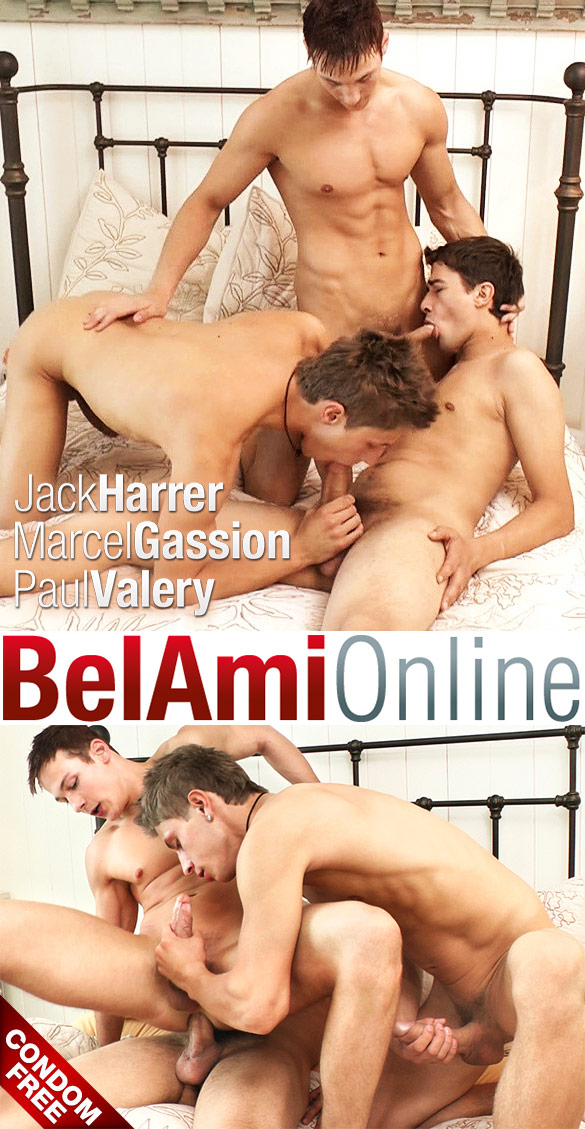 BelAmi: Marcel Gassion gets fucked raw by Jack Harrer and Paul Valery