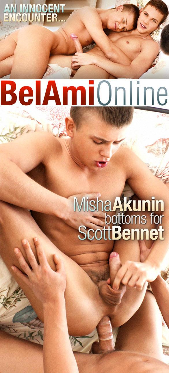 BelAmi: Scott Bennet fucks Misha Akunin