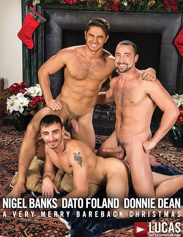 Lucas Entertainment: Nigel Banks, Dato Foland and Donnie Dean's raw threeway
