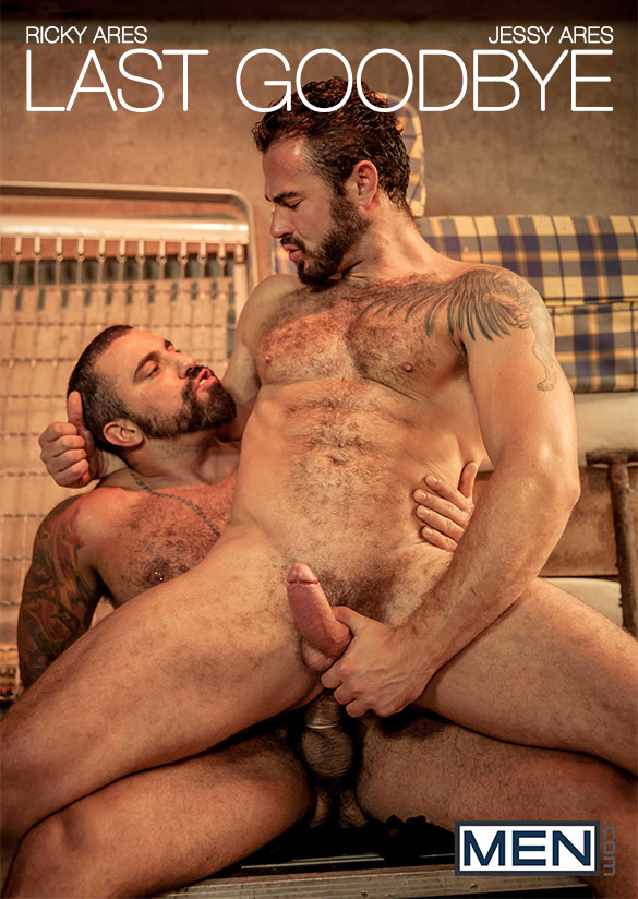 "Men.com: Jessy Ares and Ricky Ares fuck each other in ""Last Goodbye"""