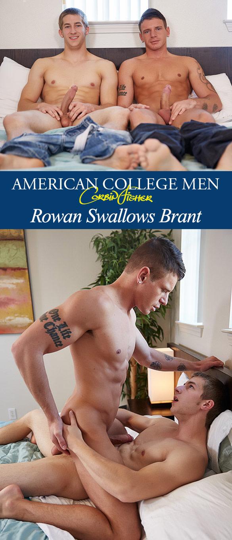 Corbin Fisher: Brant barebacks Rowan
