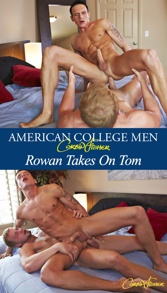 Corbin Fisher: Tom fucks Rowan bareback