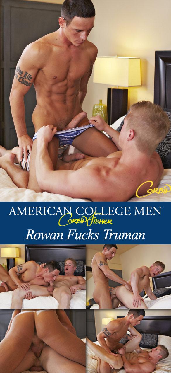 Corbin Fisher: Rowan barebacks Truman