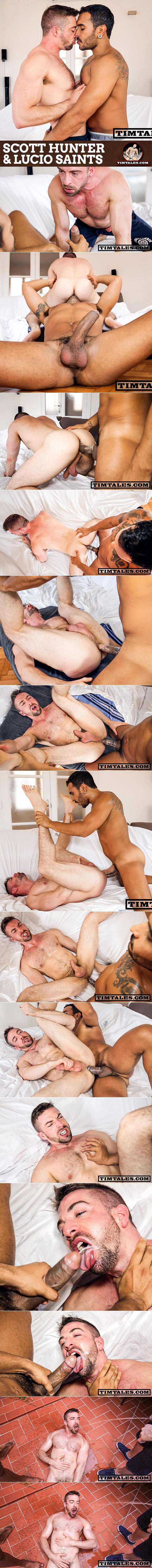 TimTales: Lucio Saints bangs Scott Hunter