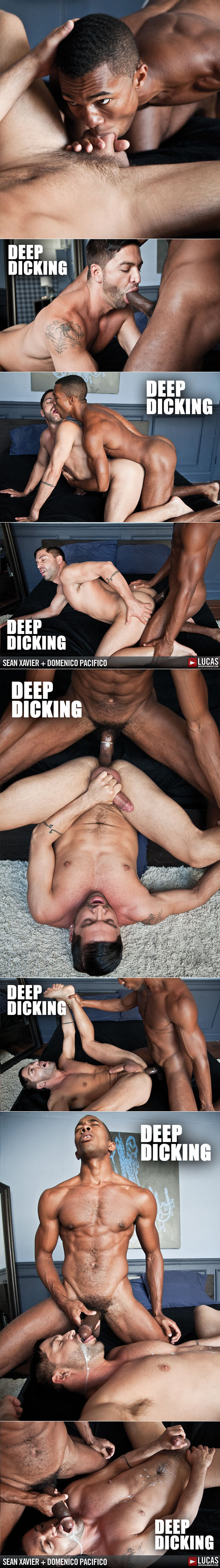 "Lucas Entertainment: Sean Xavier bangs Dominic Pacifico in ""Deep Dicking"""