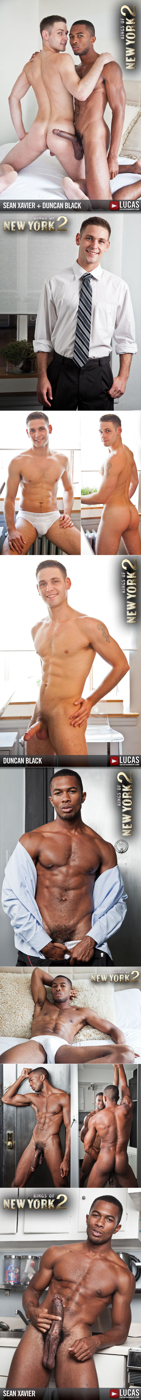 "Lucas Entertainment: Sean Xavier bangs Duncan Black in ""Kings of New York, Season 2"""