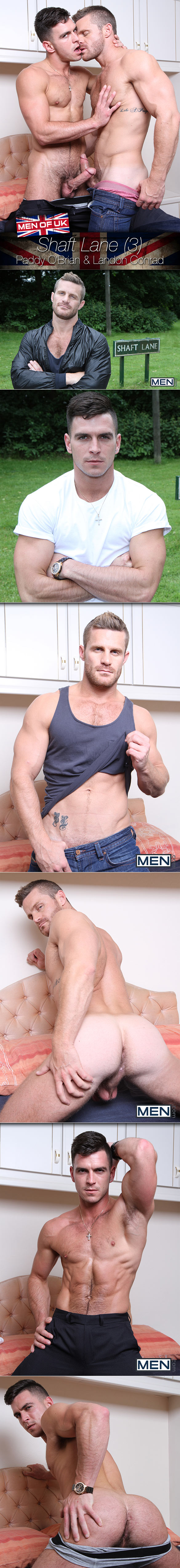 "Men.com: Paddy O'Brian fucks Landon Conrad in ""Shaft Lane, Part 3"""
