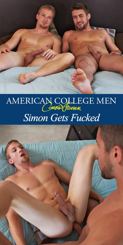 Corbin Fisher: Zeb pops Simon's ass cherrry
