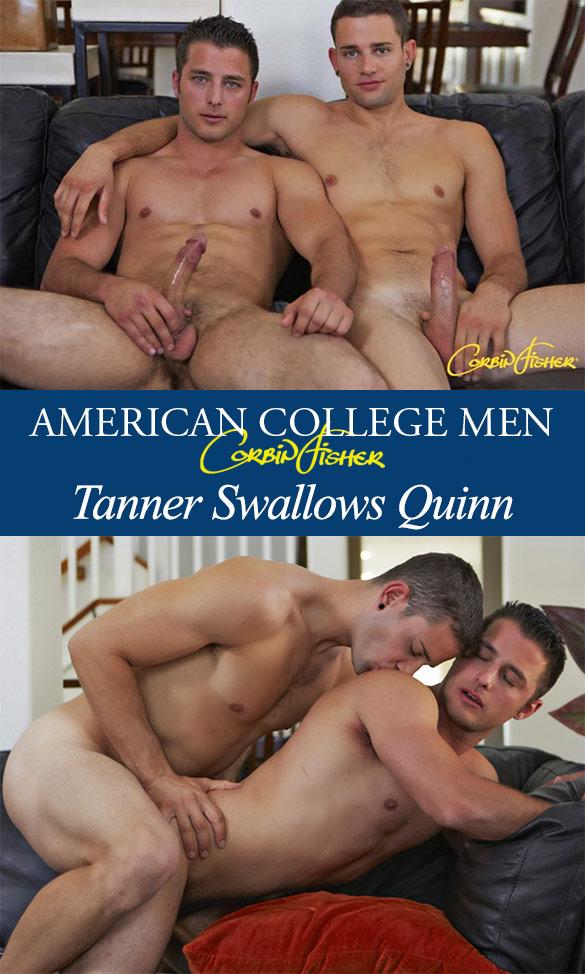 Corbin Fisher: Quinn barebacks Tanner