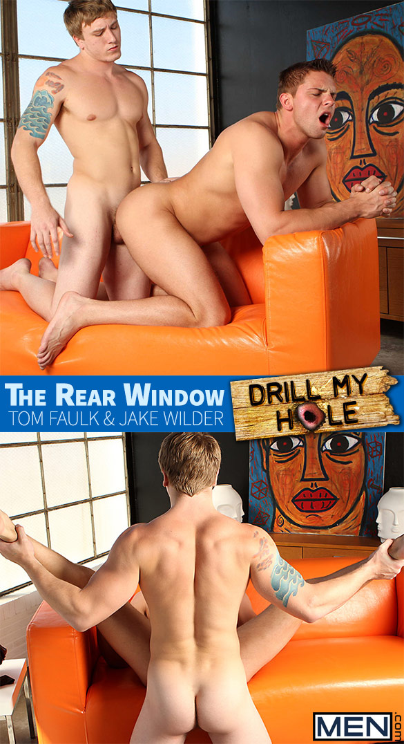 "Men.com: Tom Faulk fucks Jake Wilder in ""The Rear Window"""