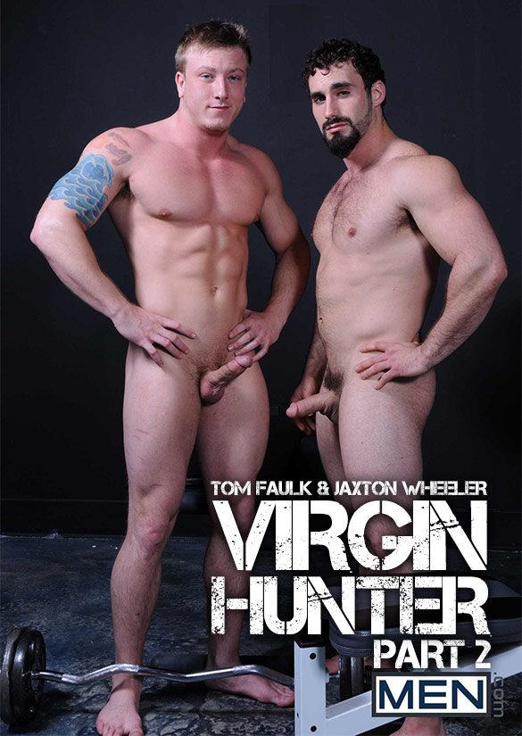 "Men.com: Tom Faulk fucks Jaxton Wheeler in ""Virgin Hunter, Part 2"""