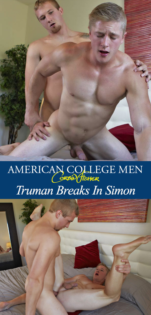 Corbin Fisher: Simon barebacks Truman