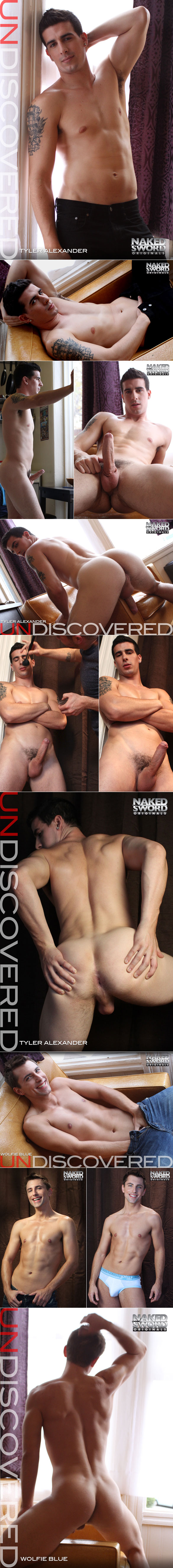 "Wolfie Blue and Tyler Alexander flip fuck in ""Undiscovered, Episode 1"" at NakedSword"