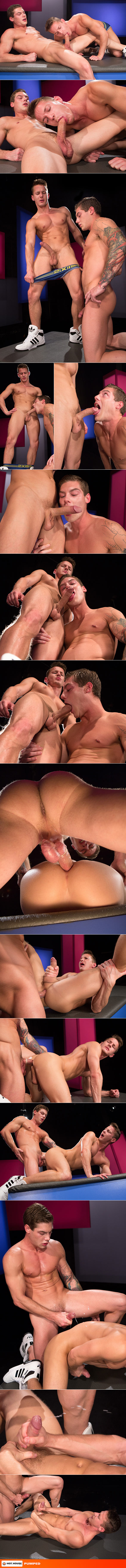 "Hot House: Vance Crawford fucks Darius Ferdynand in ""Pumped"""