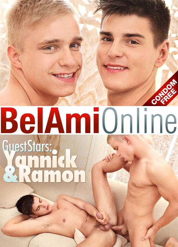 BelAmi: Yannick Modine fucks Ramon Macchio bareback