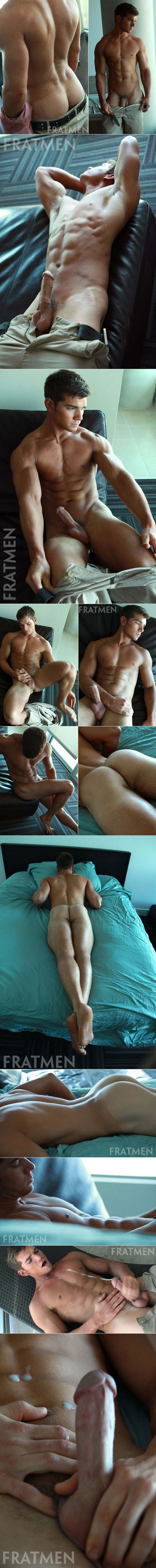 Fratmen.tv: Aiden rubs one out
