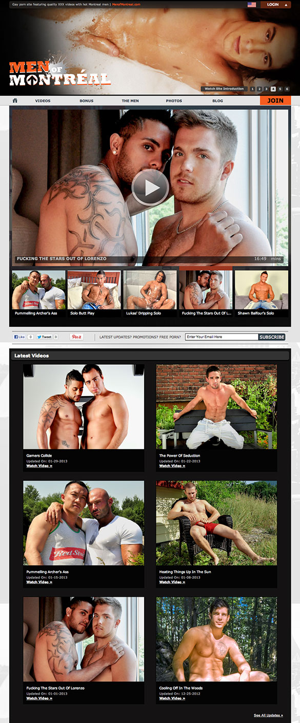 Hot New Site: MenOfMontreal.com