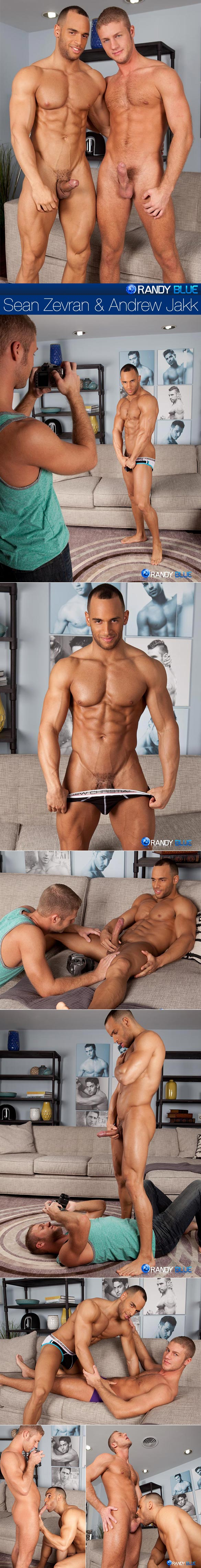 RandyBlue: Andrew Jakk gets fucked by Sean Zevran